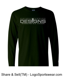 Adult Heavyweight Ringspun Long Sleeve T-Shirt Design Zoom